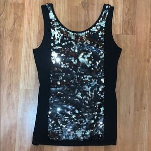 NWT Yoana Baraschi | Color Changing Sequin Top
